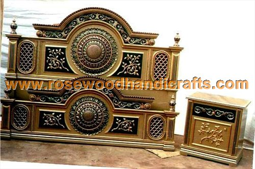 Wooden antique beds rosewood antique bed wooden antique for Furniture design bed in pakistan