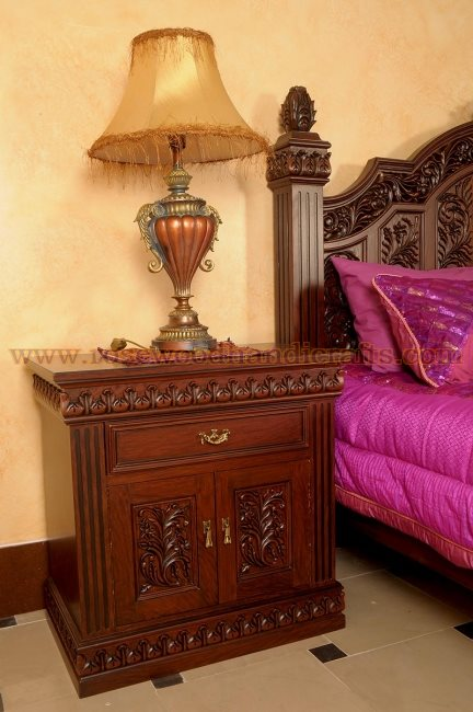 Wooden Carved Bed Set Rosewood Carved Beds Carved Bed