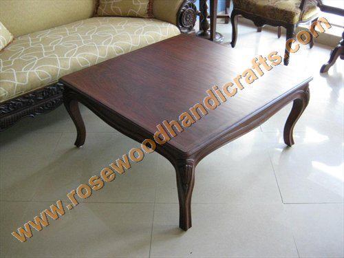 Wooden Top Square Center Table