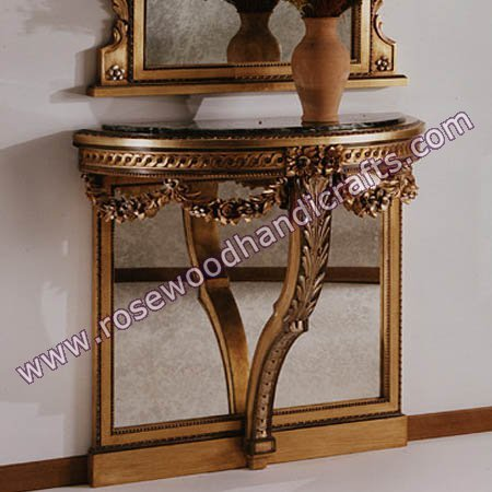 Superior Wooden Console Table
