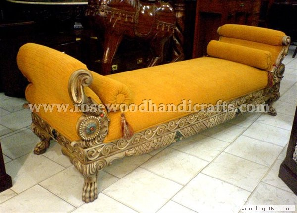 Rosewood Carving Couch