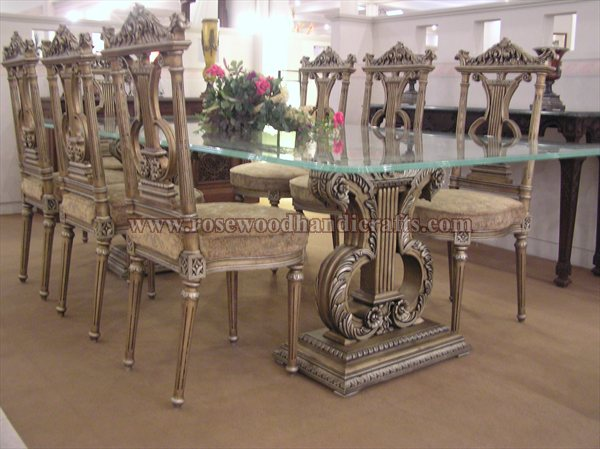 Wooden Dining Table Set Roewood Dining Table Dining
