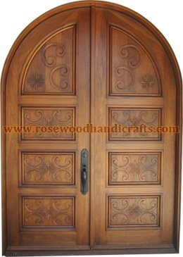 Wooden Door & Wooden Doors  Wooden Carved Door  Rosewood Doors  Wooden ...
