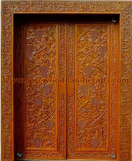 Wooden Door - Wooden Doors , Wooden Carved Door , Rosewood Doors , Wooden Engraved