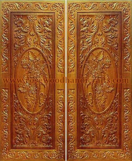 Wooden Door Product Code WDO-03. Size On your Requirement. Price On Inquiry Detail  Handmade full carved doors. Can be make according to your ... & Wooden Doors  Wooden Carved Door  Rosewood Doors  Wooden Engraved ...