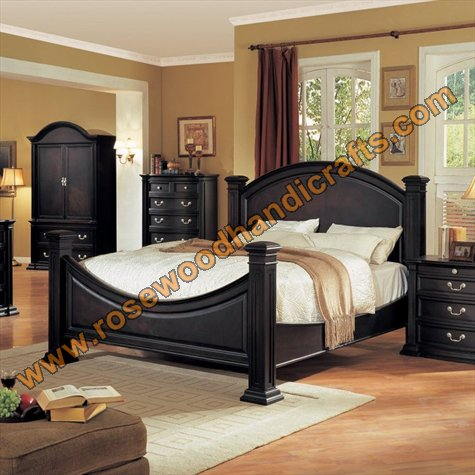 Wooden Latest Beds Wooden Bed Set Rosewood Bed Set