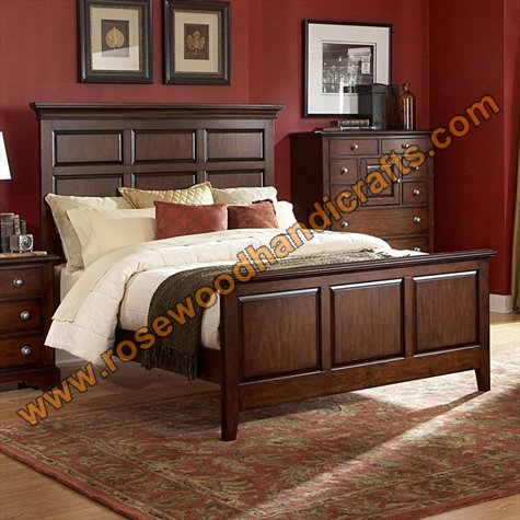 wood bed designs in pakistan