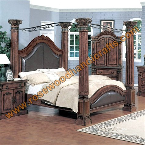 Wooden Latest Beds, Wooden Bed Set, Rosewood Bed set, Rosewood