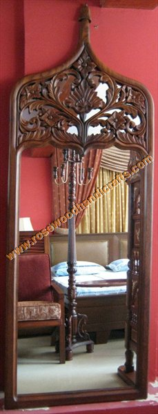 Wooden Wall Haning Mirror Frame