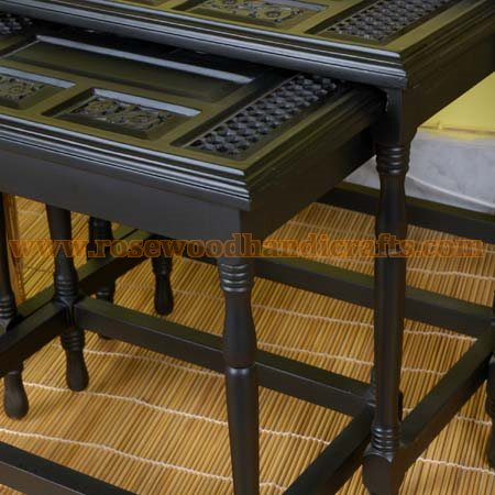 Wooden Furniture Nesting Tables