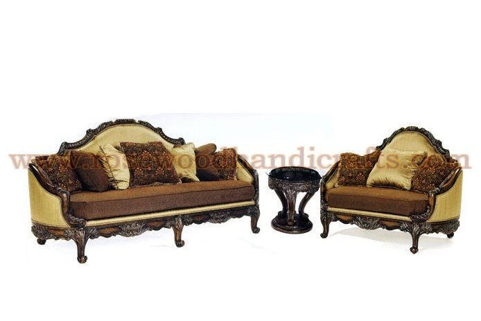 Wooden Sofa Set Size:: 7 Seater Sofa Set (3+2+1+1 ).Also Can Be Made For  Required Sittings. Product Code:: WSS 19. Price:: On Inquiry Wood::  Sheesham Wood