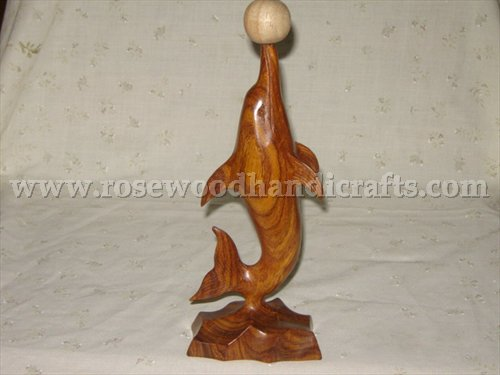 Wooden Dolphin