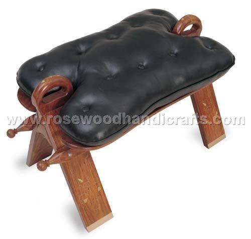 Wooden Camel Seat