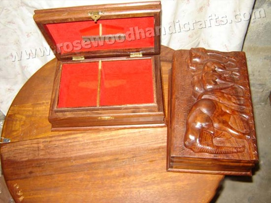 Rosewood Carving Jewelry BoxesWooden Carving Jewelry BoxWooden