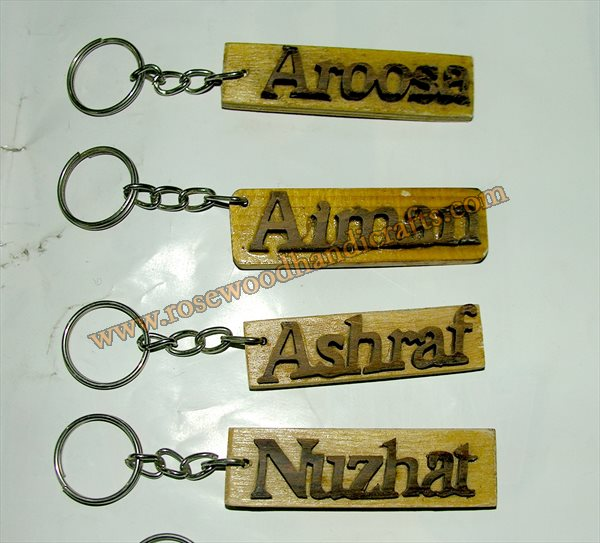 Wooden Key Chains
