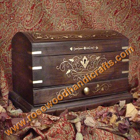 Wooden Jewelry Storage Chest & Wooden Jewelry Storage ChestesWooden Captain BoxWooden Trunks ...