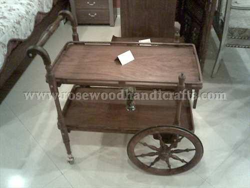 Tea Cart With Two Flappers
