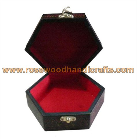 Wooden Lacquer Color Jewelry Box